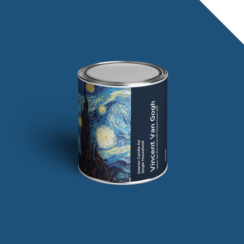 Art-Candle : Vincent van Gogh No.1 350g