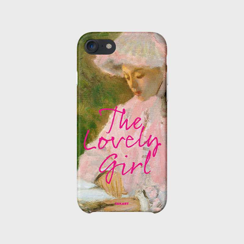 The Frame Campaign : 'Spring time' by Claude Monet - 'The lovely girl'