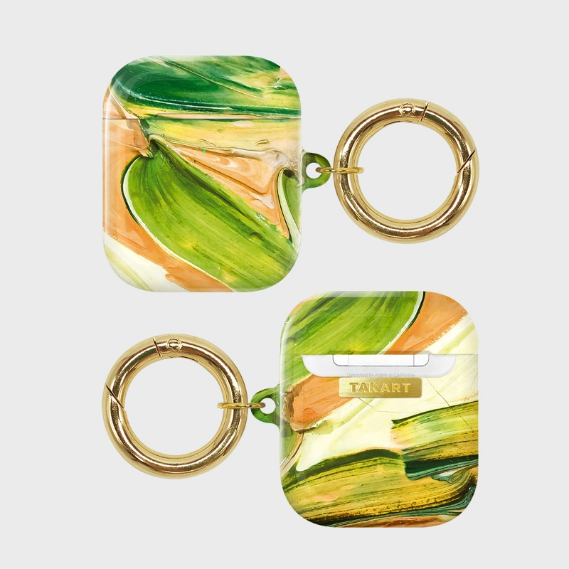 "AirPods : The touch by Van Gogh. ""Green"""