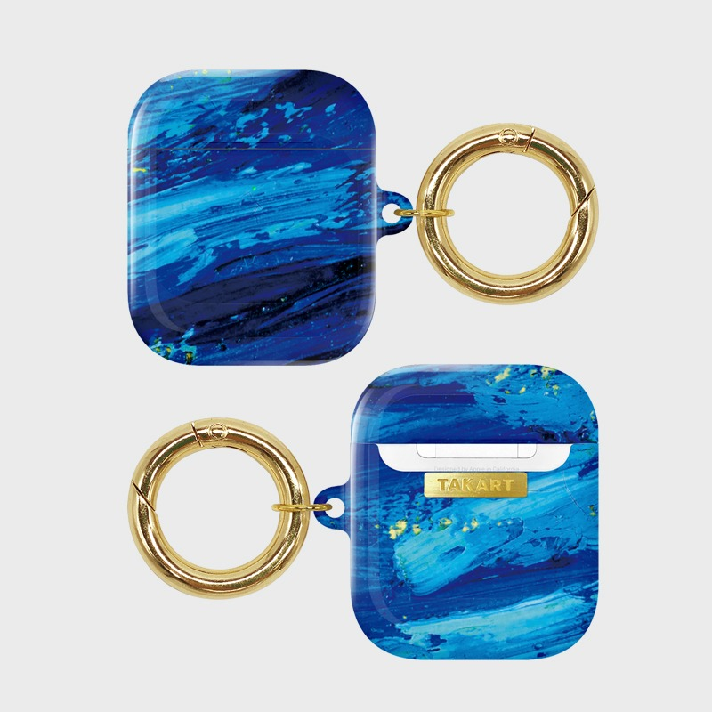 "AirPods : The touch by Van Gogh ""Indigo blue"""