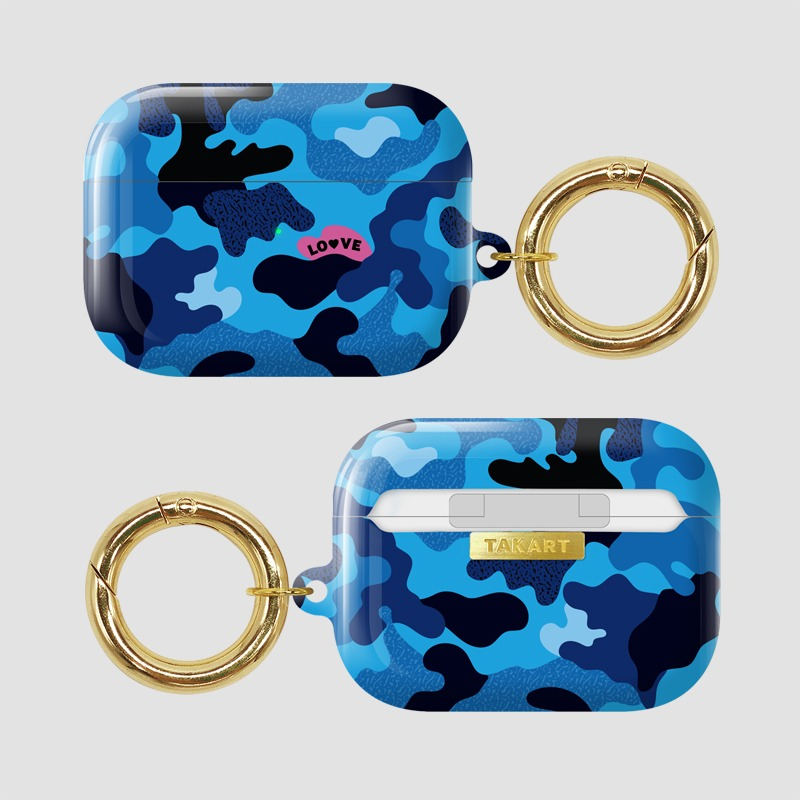 AirPods Pro : Camouflage Blue