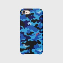Custom Text : Camouflage Blue